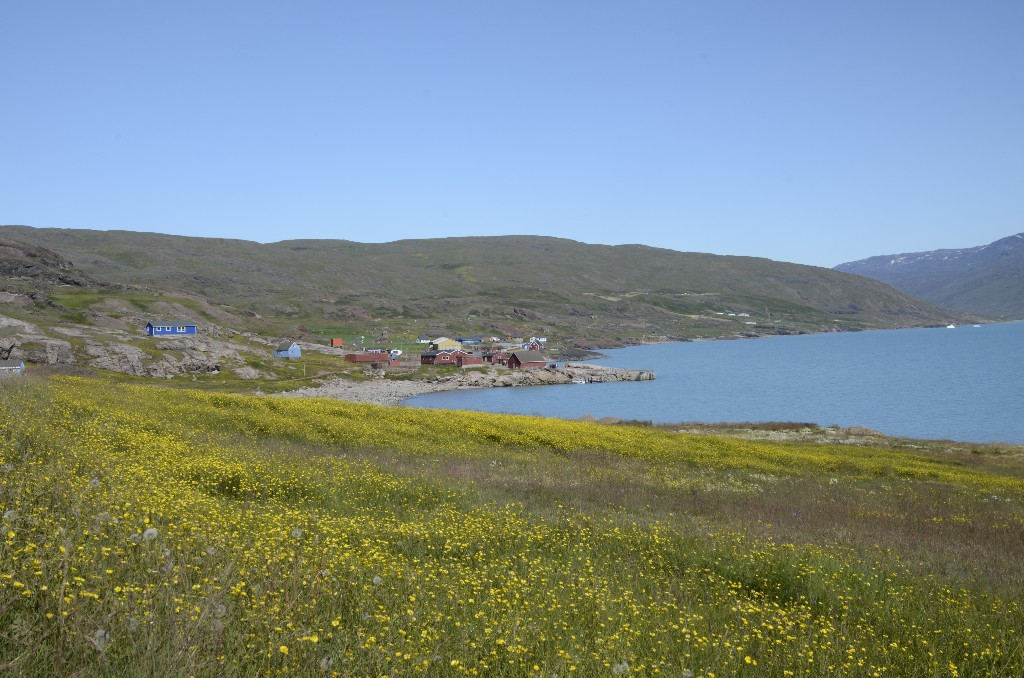 Qassiarsuk / Brattahlíð - between Sillisit and Tasiusaq